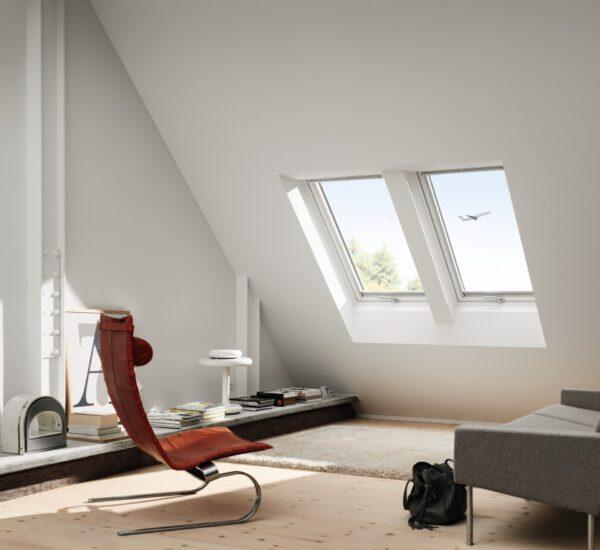 Velux Dachfenster Hobbyraum