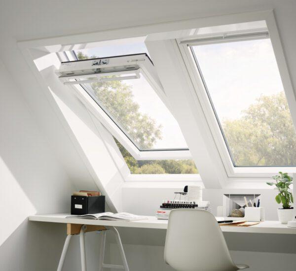 Velux Dachfenster Büro