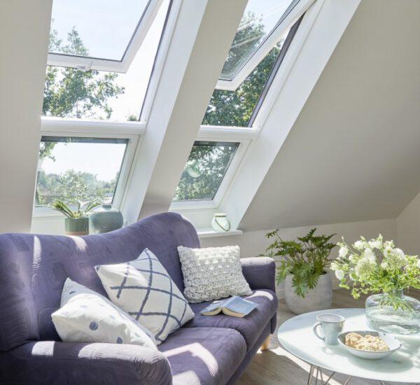 Velux Dachfenster Esszimmer