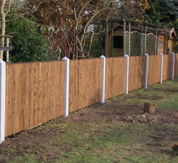 Holzarbeiten Gartenzaun