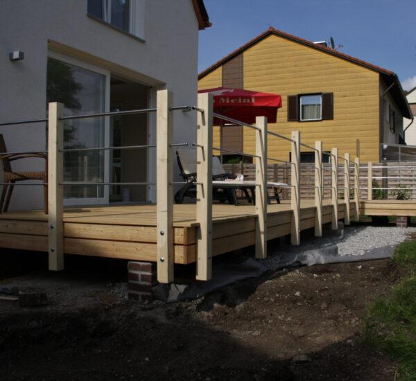 Holzarbeiten Terrasse