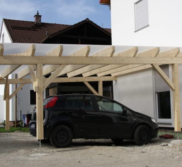 Holzarbeiten Carport